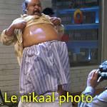 Le nikaal photo meme template