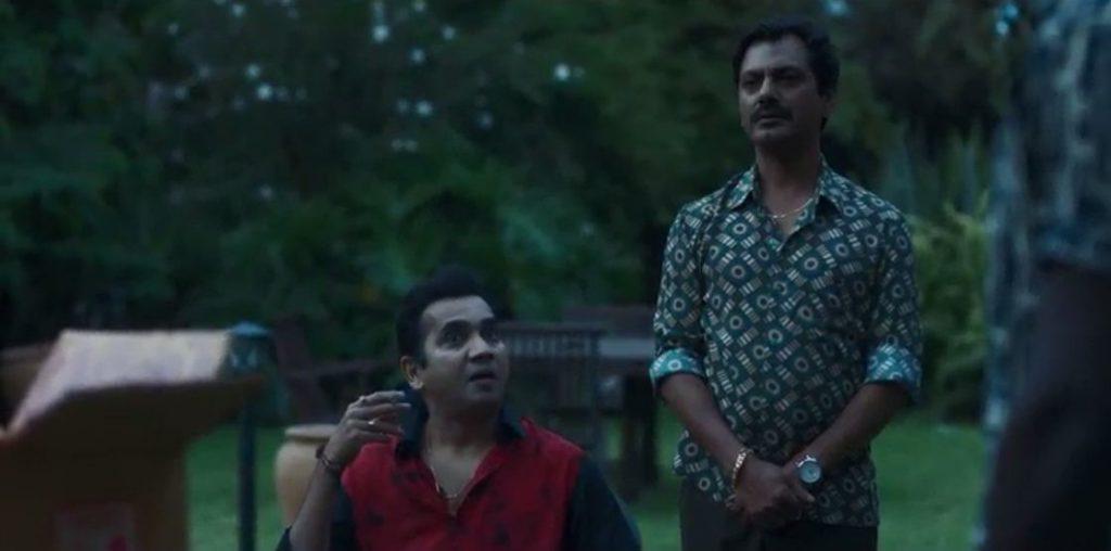 Nawazuddin Siddiqui as Ganesh Gaitonde in Sacred Games Season 2 dialogue and meme template lnd kuch samajh aa raha kisi ko kuch blank
