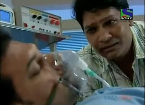 mana kiya tha na daya cid abhijeet crying while daya is in coma meme template