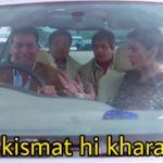 meri kismat hi kharab hai welcome movie dialogue meme akshay kumar as Rajiv Saini