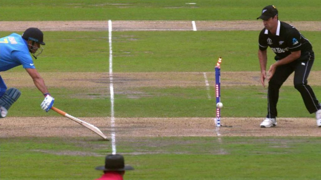 MS Dhoni run out in 2019 wc semi final