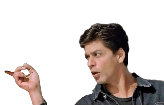 Muh to band karo uncle shahrukh khan transparent png meme template