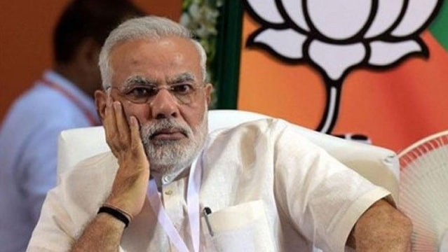 PM Narendra Modi looking angrily funny photo