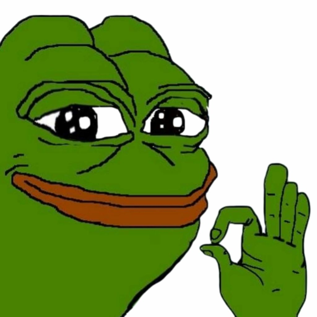 okay pepe meme template