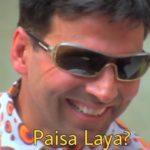 Paisa Laya Akshay Kumar Phir Hera Pheri meme template