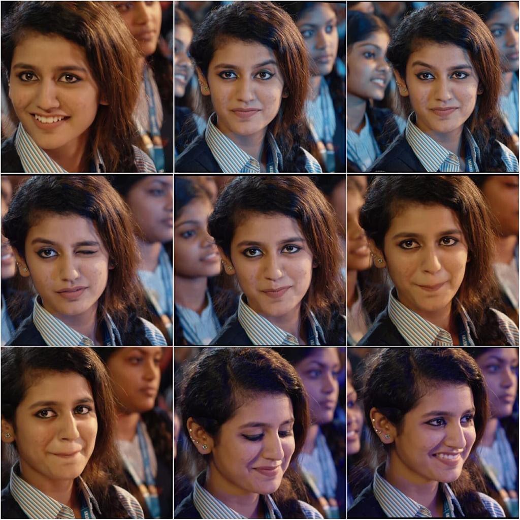 Priya Prakash Varrier's wink meme