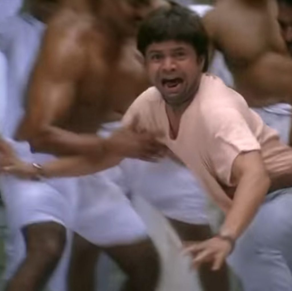 Rajpal Yadav afraid to fight in chup chup ke movie