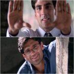 raju and shyam hera pheri movie meme template