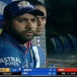 rohit sharma in the dugout meme