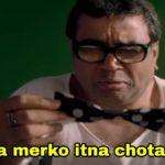Saala merko itna chota diya babu bhaiyaa Paresh Rawal dialogue in phir hera pheri