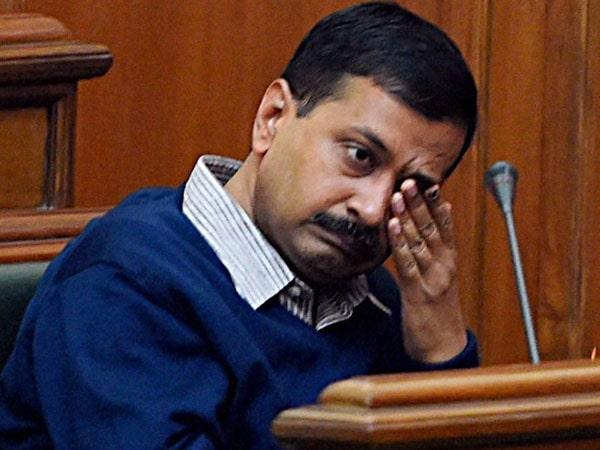 sad arvind kejriwal in assembly
