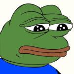 Sad Pepe The Frog meme template