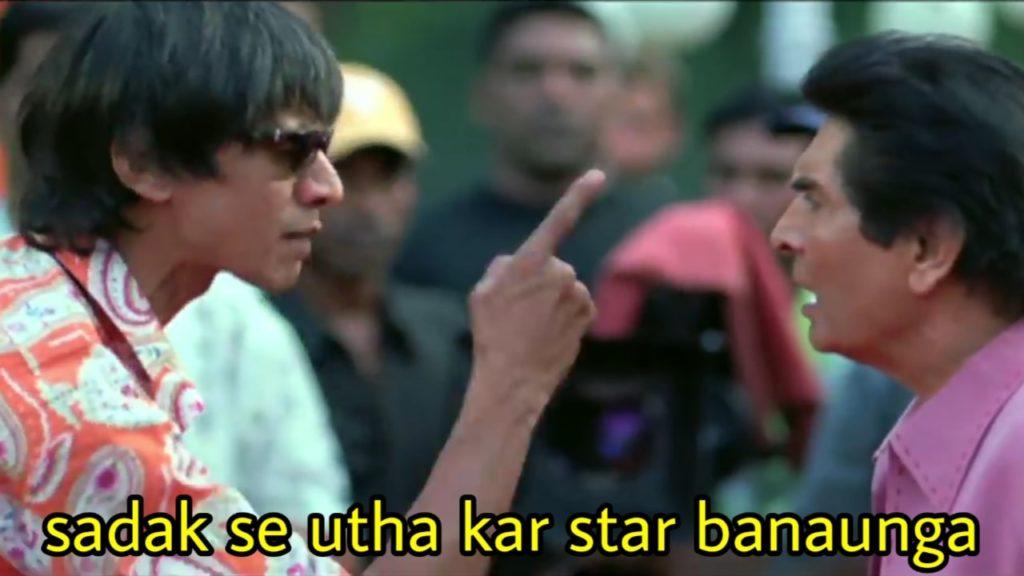 sadak se utha kar star banaunga welcome movie dialogue by vijay raaz as film director