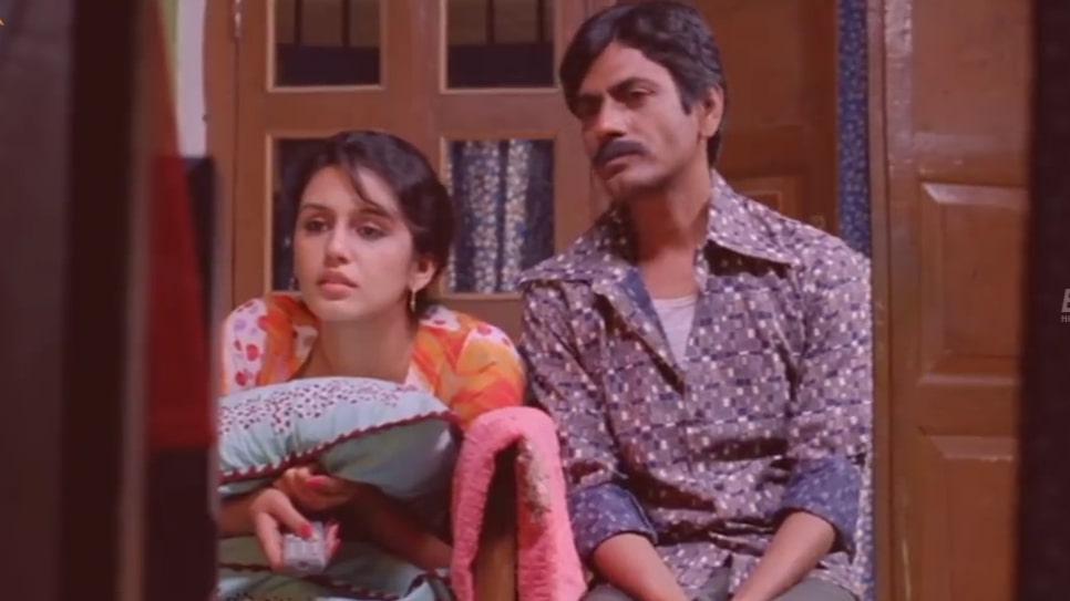 Nawazuddin Siddiqui As Faisal Khan to Huma Qureshi in Gangs of Wasseypur dialogue and meme template sex karna chahte hain tumhare saath