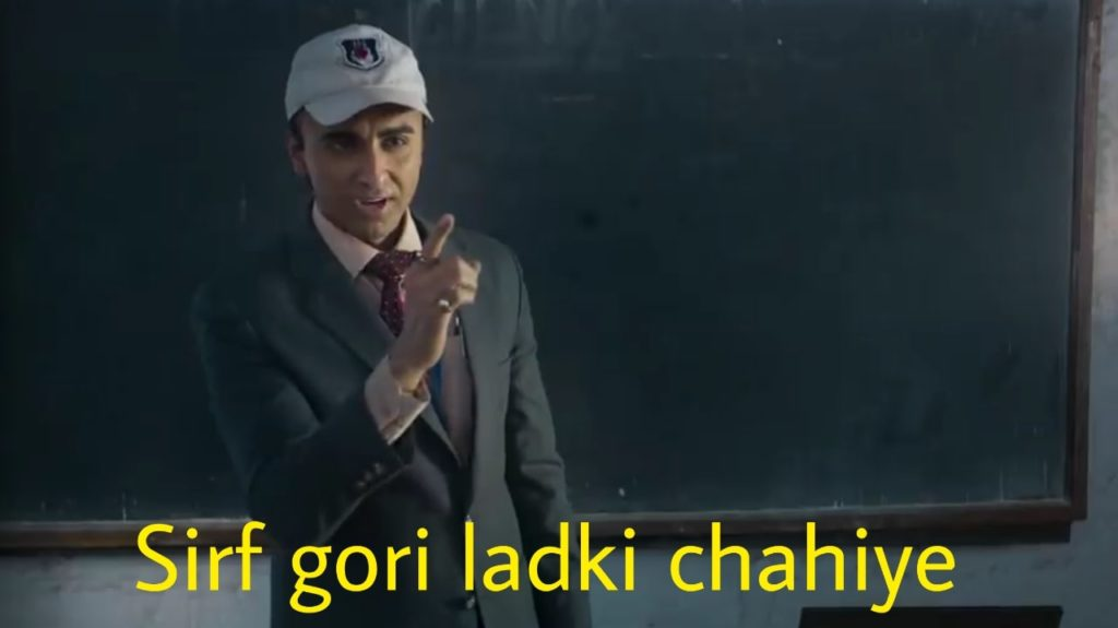 sirf gori ladki chahiye Ayushmann Khurrana in Bala dialogue meme
