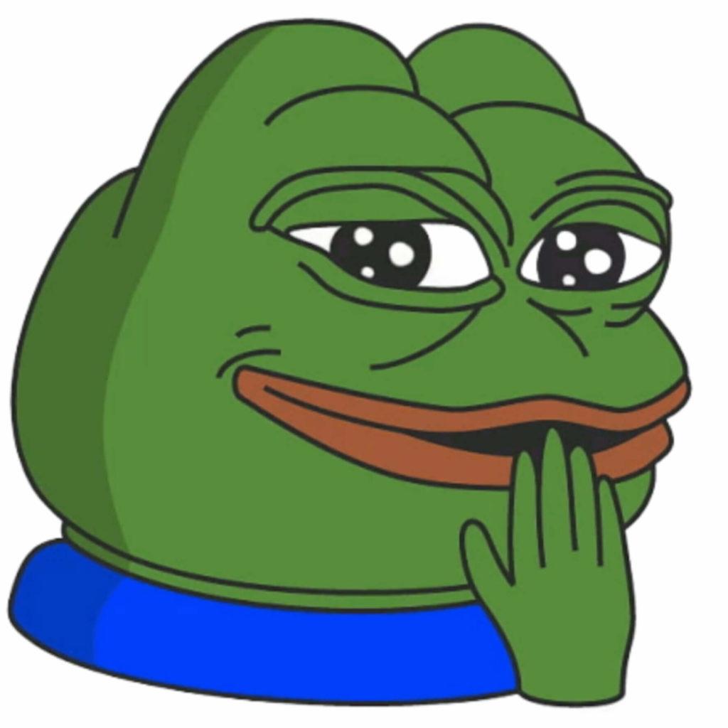 Smiling Pepe Meme Template