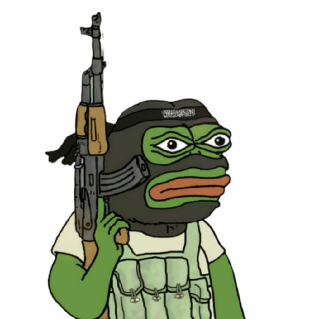 Terrorist Pepe Meme Template
