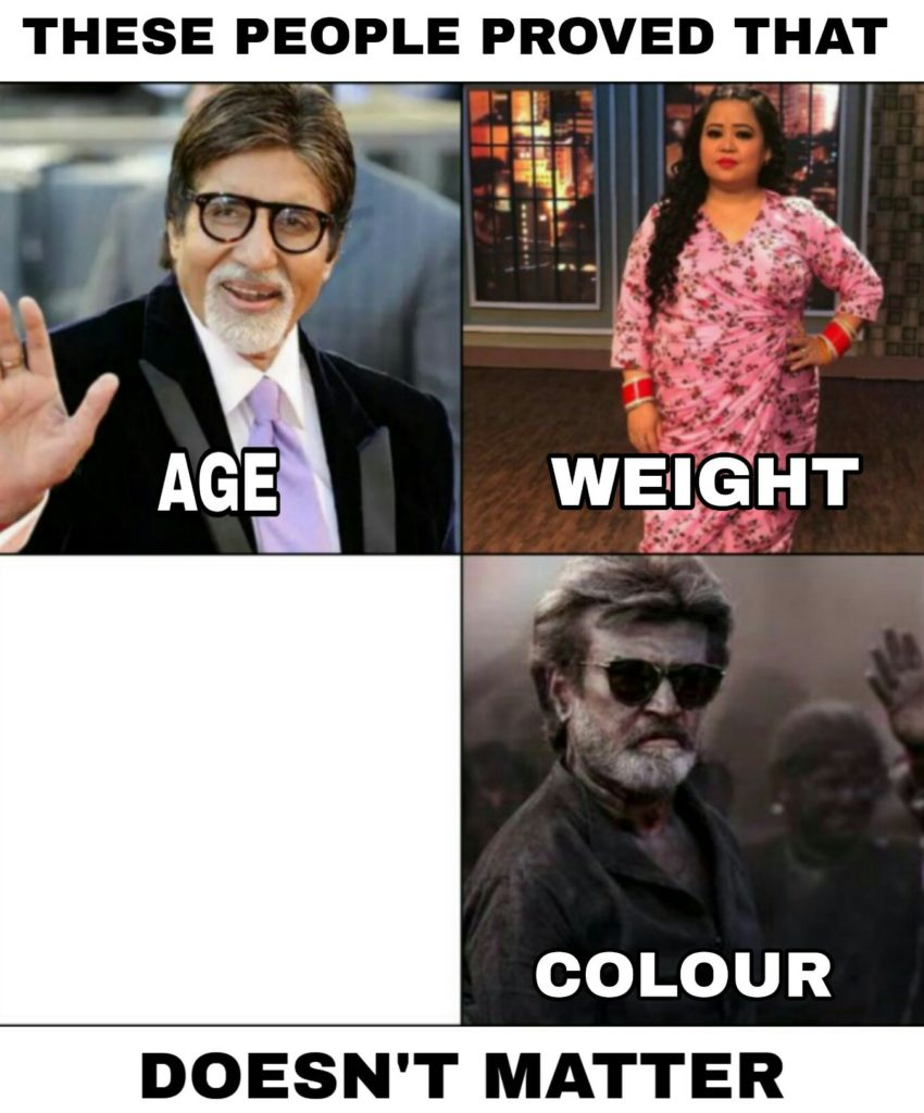 these people proved that age weight color doesn't matter meme template