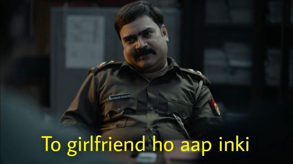To girlfriend ho aap inki tandav meme template