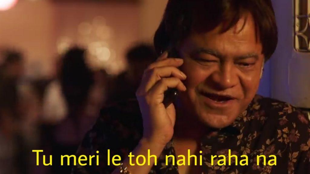 Tu meri le toh nahi raha na Sanjay Mishra dialogue in Kaamyaab movie meme template