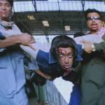 two men lifting injured salman khan to crush his head tere naam movie meme template