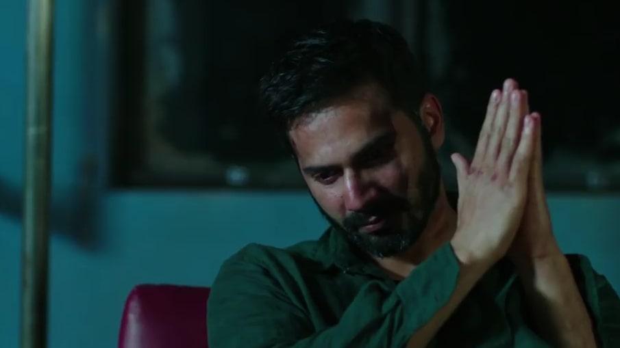 Varun Dhawan Folded Hands Badlapur meme